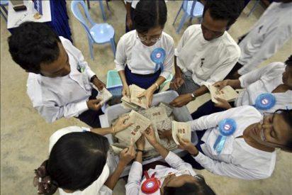 Birmania prosigue el recuento electoral bajo el estado de excepción