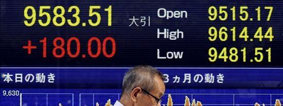 El índice Nikkei subió 79,40 puntos,0,82 por ciento, hasta 9.705,39 puntos