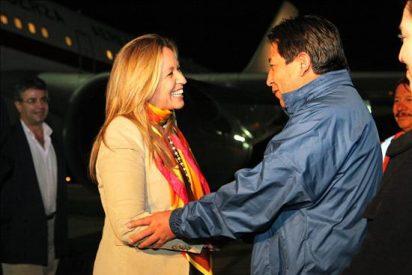 Trinidad Jiménez llega a Bolivia en su primera visita bilateral como ministra