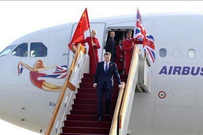 Cameron llega a Pekín, donde se reunirá con Hu Jintao y Wen Jiabao