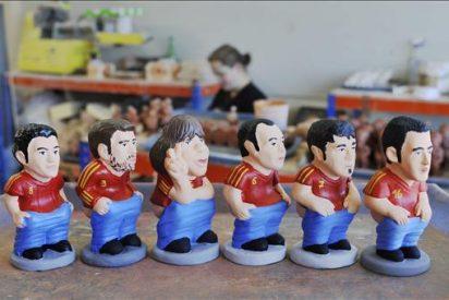La Roja, Messi, Mourinho y los políticos catalanes, nuevos 'caganers'