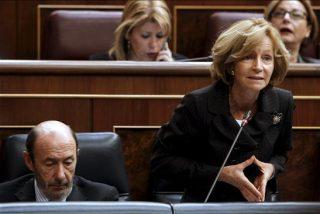 Salgado acusa al PP del mayor ejercicio de irresponsabilidad hecho en crisis