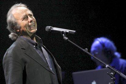 """Joan Manuel Serrat se define ante la prensa chilena como """"un pobre pecador"""""""