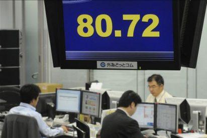 El índice Nikkei subió 48,77 puntos, el 0,50 por ciento, hasta 9.879,29