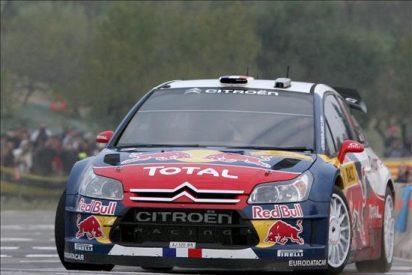 Sólo dos segundos separan a Loeb y Solberg en la lucha por el liderato