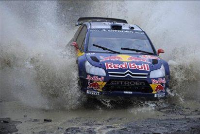 Loeb se mantiene líder pese a la presión de Solberg
