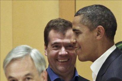 Obama reiteró a Medvédev su intención de ratificar el START antes de enero