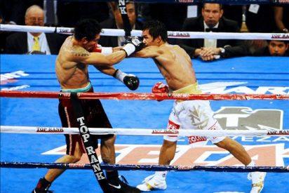 Pacquiao ganó a Margarito y consiguió el octavo título mundial