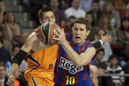 76-62. Un parcial de 20-1 para el Barça acabó con la resistencia del Fuenlabrada