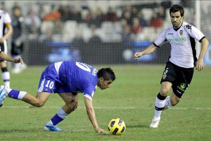 2-0. El Valencia recupera el pulso ante un Getafe ineficaz