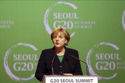 La canciller Angela Merkel, a por el apoyo de su CDU en tiempos revueltos