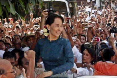 Suu Kyi quiere devolver la legalidad a su partido en Birmania
