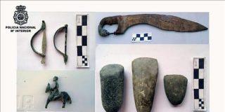 Recuperadas las piezas robadas de una necrópolis de Córdoba de los siglos I y IV