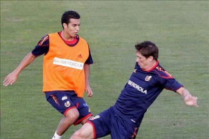 Pedro no se entrena y es duda para el Portugal-España por un dolor abdominal