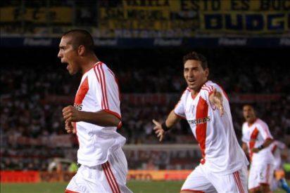 River Plate derrota al Boca Juniors en el clásico argentino