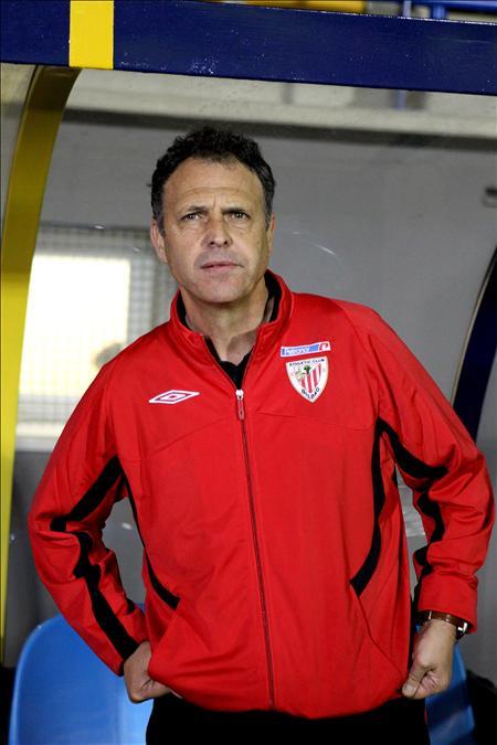 """Caparrós asegura que """"Llorente está muy, muy contento en el Athletic"""""""