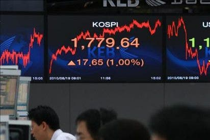 El índice Kospi subió 8,88 puntos, 0,46 por ciento, hasta 1.936,74 puntos