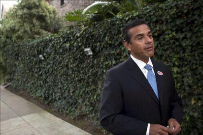 Los mineros de Chile son recibidos por el alcalde de Los Ángeles en su visita a EE.UU.
