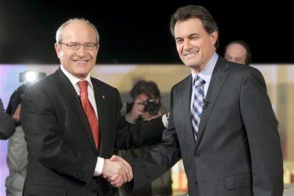 CiU y PSC pactan grabar mañana el debate 'cara a cara' entre Mas y Montilla