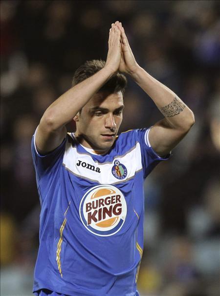 1-1. El Getafe se atasca en el estreno de Javier Aguirre con el Zaragoza