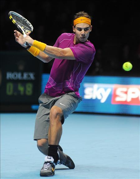 La remontada de Nadal ante Roddick, plato fuerte de la jornada