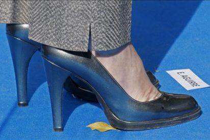 """Esperanza Aguirre recibe el premio """"Mejor Calzada"""" de España 2009"""