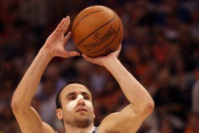 Ginóbili apoya la racha ganadora de los Spurs; Hilario, de los Nuggets