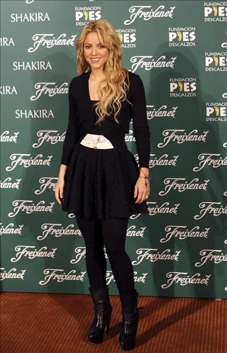 Shakira, complacida por su brindis navideño solidario