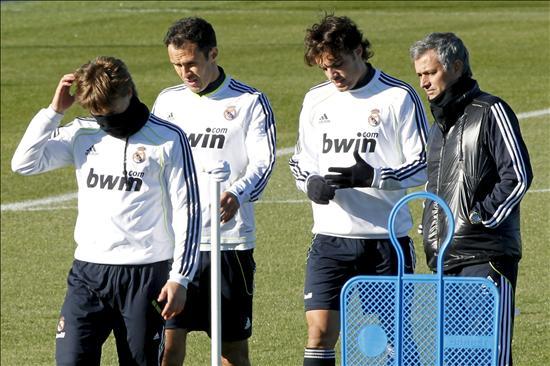 Carvalho trabaja con el Real Madrid y Khedira e Higuaín se recuperan en el gimnasio