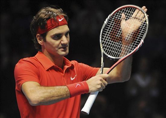 """Federer, primer clasificado para las semifinales del """"Torneo de Maestros"""""""
