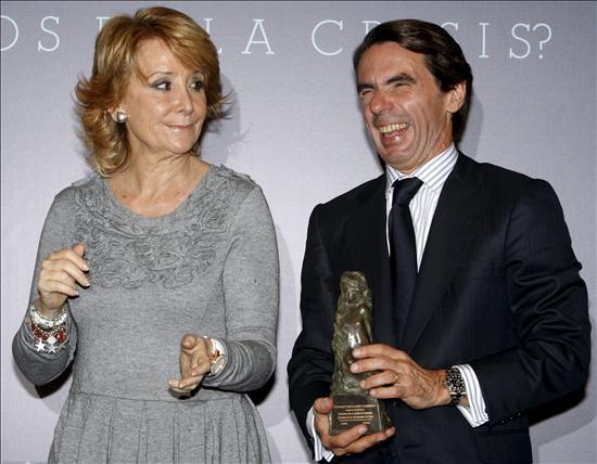 La educación supone ahora menos oportunidades de progreso que nunca, según el ex presidente Aznar