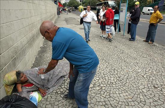 Cerca de 11,2 millones de brasileños sufrieron por falta de alimento en 2009