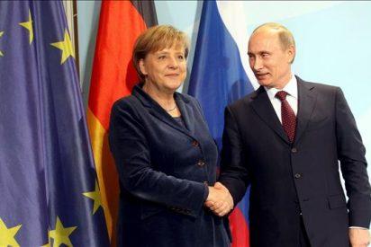 Merkel y Putin abordan cuestiones económicas y energéticas