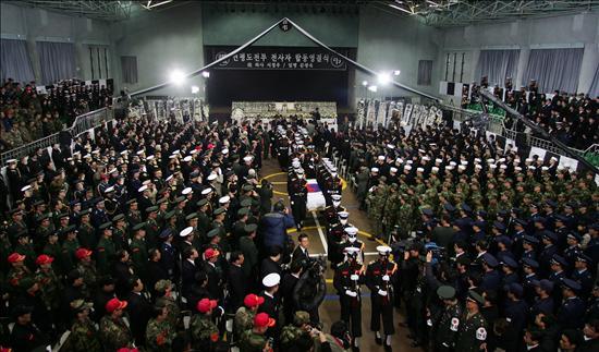 Seúl cree que Corea del Norte utilizó explosivos de alta potencia en su ataque