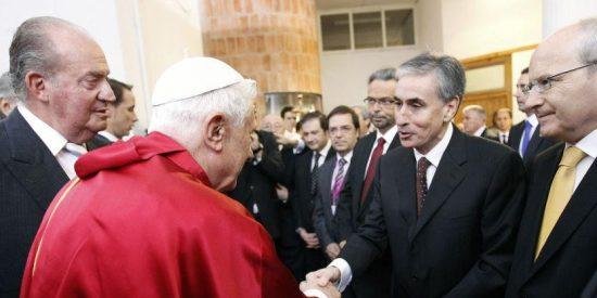Ramón Jáuregui aterriza en el Vaticano