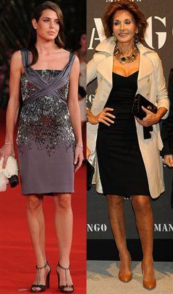 Naty Abascal y Carlota Casiraghi, elegancia y estilo cara a cara