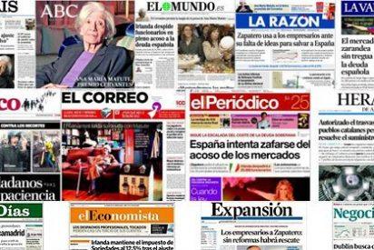 El País y El Mundo caen, ABC sube y La Gaceta se consolida