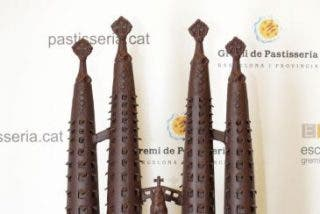 La Sagrada Familia en chocolate, postre para el Papa