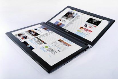 Acer presenta un portátil con dos pantallas táctiles, dos tabletas al estilo iPad y un smartphone