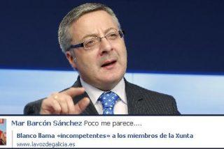 Blanco vuelve a Galicia para atacar a la Xunta en vez de para saldar sus deudas