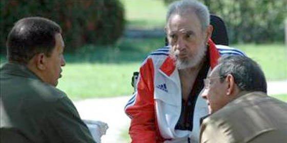Fidel Castro se reunió con Hugo Chávez en La Habana