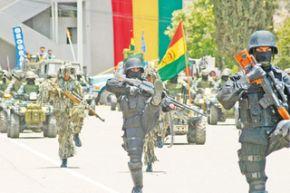 Ejército boliviano se declara antiimperialista, anticapitalista, socialista y comunitario