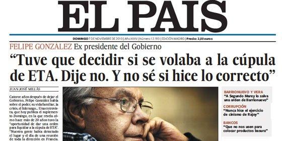 Felipe González, el perdonavidas
