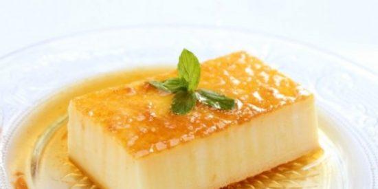 Flan de queso sin horno: 2 recetas fáciles 👌