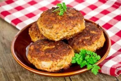 Frikadellen, hamburguesas alemanas