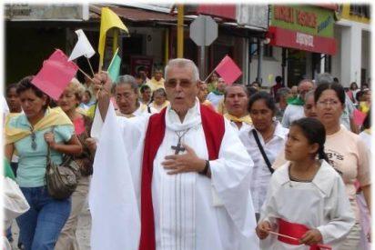 Agentes de pastoral de Sucumbíos reivindican la figura de monseñor Gonzalo López