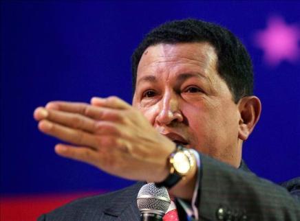 """Hugo Chávez llama a prestar """"oídos al tambor"""" de guerra que toca Estados Unidos"""