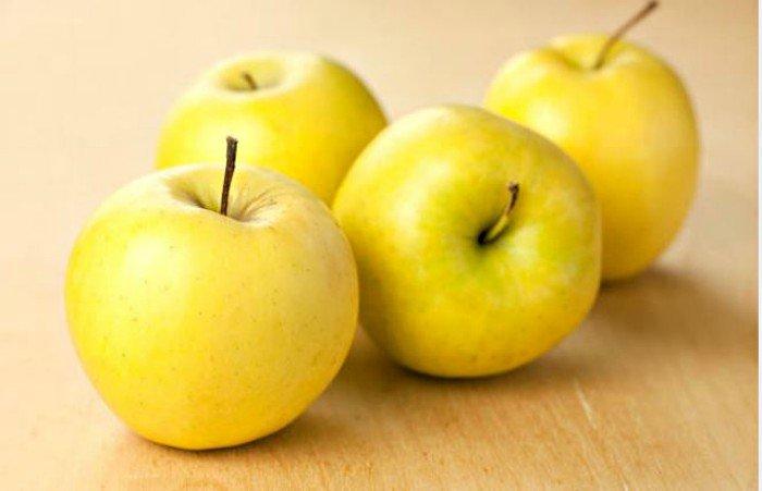 Manzanas amarilllas