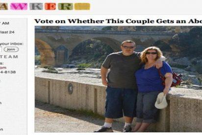Una pareja estadounidense crea una encuesta 'online' para decidir si abortan o continúan con el embarazo