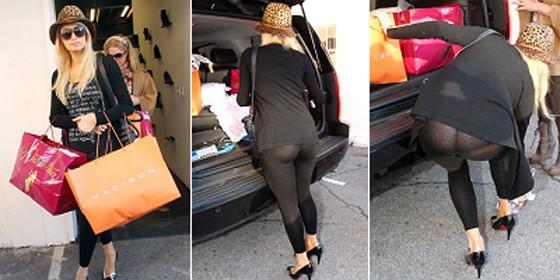9a2e790b6e47 Paris Hilton, sin ropa interior - Periodista Digital